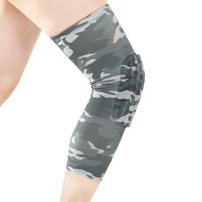 Camouflage Anti-collision Breathable PRO Honeycomb Knee Pads for Basketball Climbing Professional Outdoor Sports