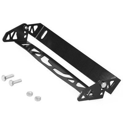 Car Universal Aluminum Alloy License Plate Frame Adjustable Rotating Number Plate Holder