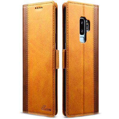 New Creative Flip Type Card Block Color Phone Case for Samsung Galaxy S9 Plus