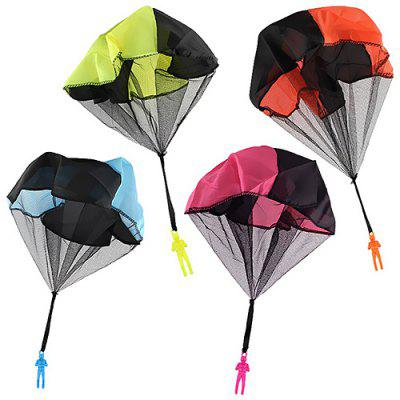 Glowing Flying Arrows Flash Parachute Hand Throwing Parachute Toys