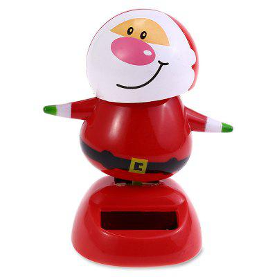 ABS Plastic Automatically Swing Smiling Face Doll Toy Decoration for Ornament