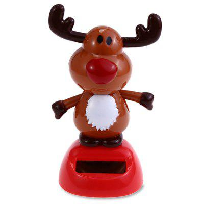 ABS Plastic Cute Style Automatically Swing Ox Toy Decoration for Ornament