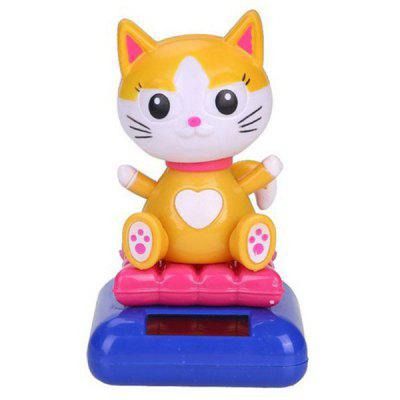 Cartoon Unique Automatically Swing Cat Toy Decoration for Ornament