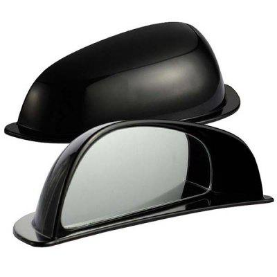 Car Two Row Rearview Blind Spot Mirror B Pillar Auxiliary Mirrors Wide Angle Lens