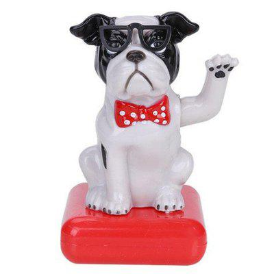 Vehicle-mounted ABS Plastic Brew Dog Toy Decoration for Ornament