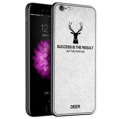 Antivingerprint en vallende telefoonhoes voor iPhone 6 Plus / 6S Plus