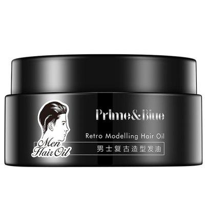 Men Retro Oil Moisturizing Styling Wax Mud Gel Hair Cream