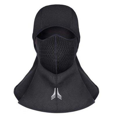 Winter Hood Riding Mask Wind Cold Protection Fleece Masked Cap