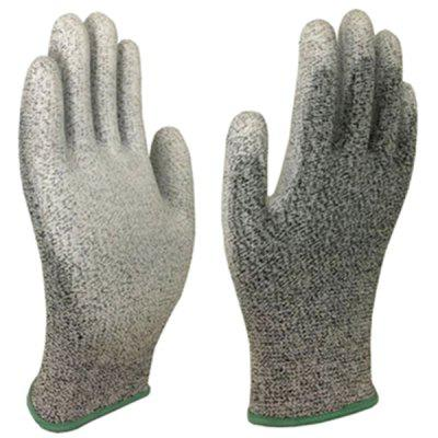 PU Coated Industrial Grade 5 Super Cut Resistant Anti-abrasion Safety Work Gloves 1 Pair
