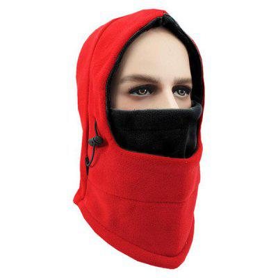 Winter Outdoor Motorcycle Fleece Headgear Masked Cap