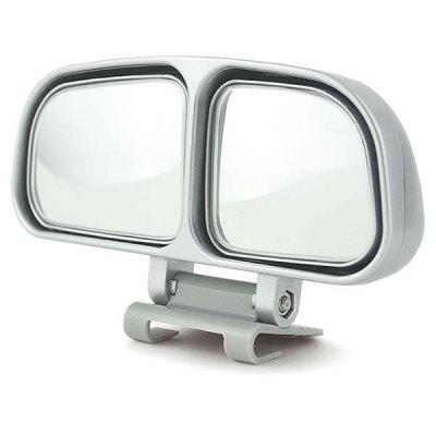 Car Rearview Blind Spot Mirror Double Side Mirrors 360 degrees Wide Angle Adjustable Rear View Accessories