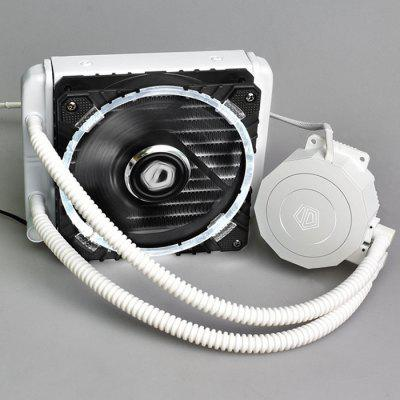ID COOLING 120 Water-cooled Fan POLARFLOW 120i - WB CPU Radiator - WHITE