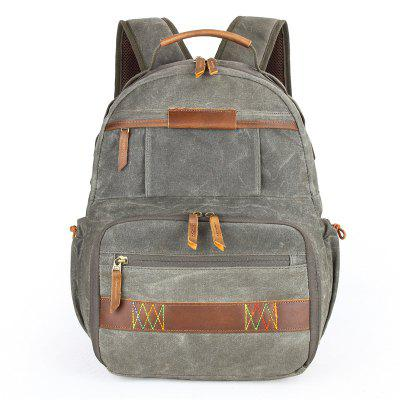 Canvas Waterproof Backpack for Photography