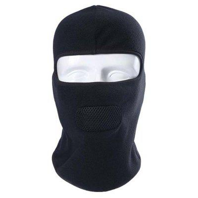 Outdoor Ski Mask Winter Motorcycle Riding Cold Fleece Windproof Warm Hood