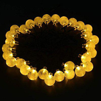 30-LED Solar Power Bubble Ball Style String Light