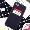 Fashionable Creative Phone Case for iPhone XR - BLACK