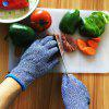 Cut Resistant Gloves Food Safe Level 5 Cut Protection Certified for Cutting and Slicing 1 Pair - BLUE KOI