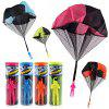 Glowing Flying Arrows Flash Parachute Hand Throwing Parachute Toys - MULTI-A