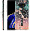 Stylish Ultrathin TPU + PC Painting Phone Case with Holder for Samsung Galaxy Note 9 - MULTI-A