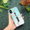 Super Thin Two In One TPU Plus PC Phone Case for iPhone XS - LIGHT BLUE
