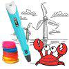 3D Printer Pen Printing Model Stereoscopic Drawing - POWDER BLUE