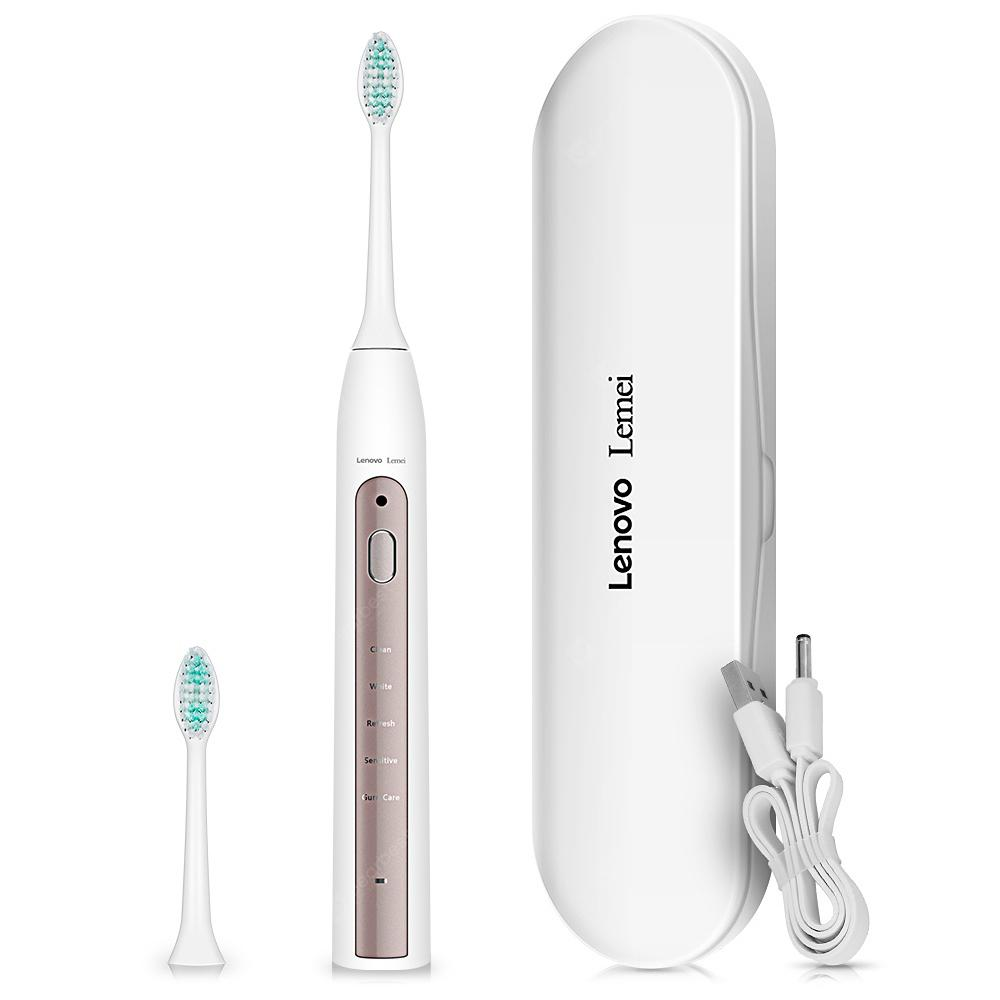 Lenovo Lemei Inteligente Smart Reminder Sonic Electric Toothbrush - WHITE