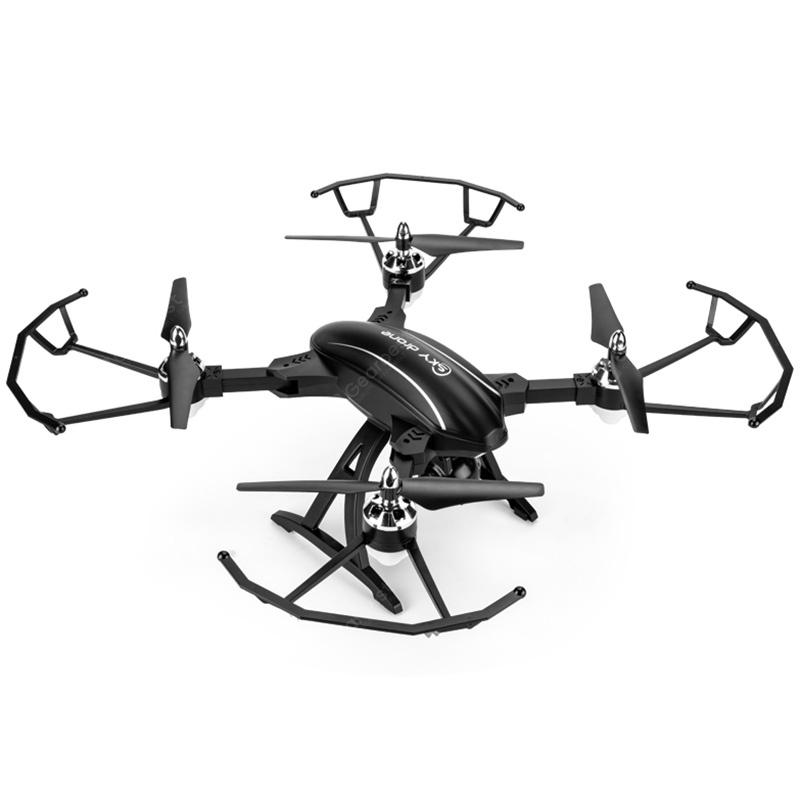 X34C-1 folding deformation four-axis large aircraft (fixed height with WIFI) + 2 million pixels