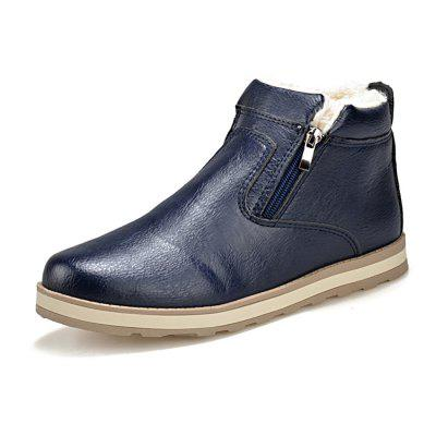 Men  's Boots Plus Velvet Epaississement