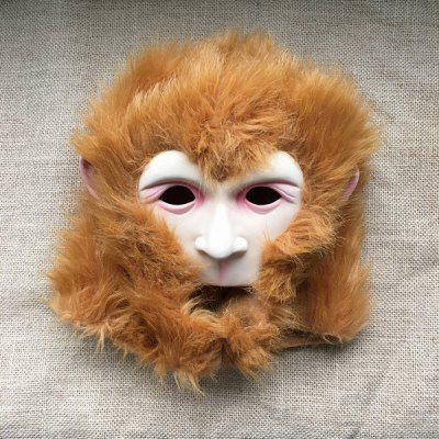 Monkey Head Mask Halloween Horror Cosplay Headgear