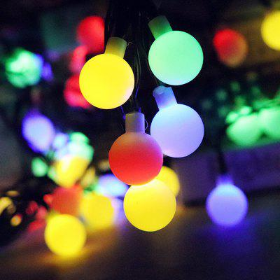 50 LED Waterproof Solar String Light for Outdoor Christmas Use