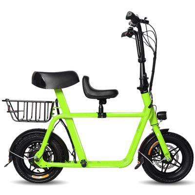 FIIDO F1 Outdoor 10.4Ah Battery Smart Folding Electric Bike Moped Bicycle Image