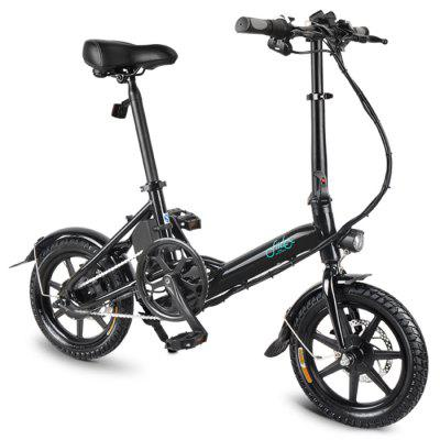 FIIDO D3 Mini Aluminum Alloy Smart Folding Electric Bike 5.2AH  Image