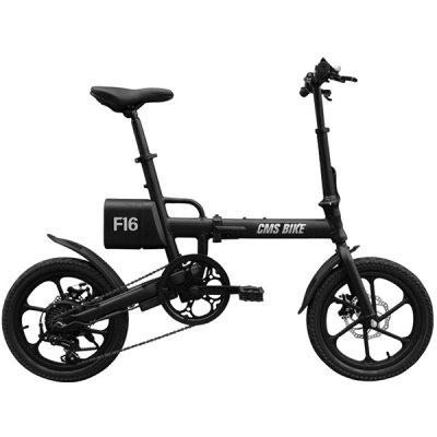 CityMantiS CMS - F16 Outdoor 7.8Ah Battery Smart Folding Electric Bike Image
