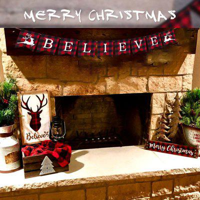 New Year Christmas Banner for Decoration