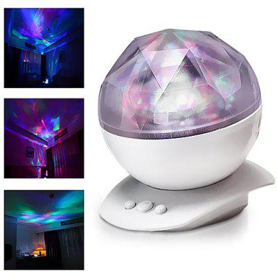 Colorful Diamond Projector Light for Party
