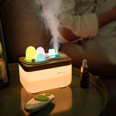 Fashion Fragrance Lamp Humidifier with Remote Control