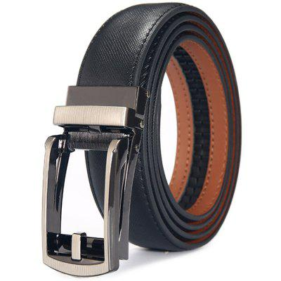Business Belt for Men with Automatic Buckle
