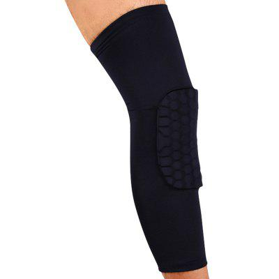 Long Knee Pad Velvet Thick Winter Warm Anti-collision Basketball Protective Gear