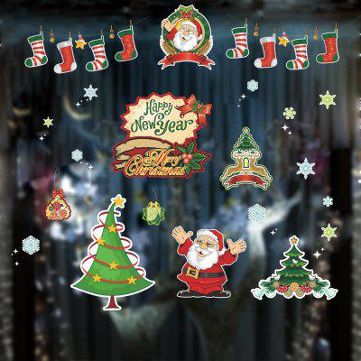 Christmas Shop Window Decoration Snowflake Sticker