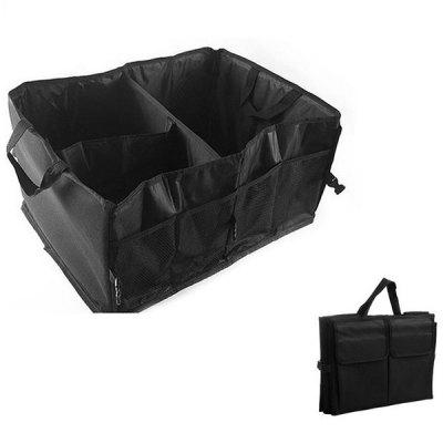 Thick Foldable Functional Organizer Storage Bag for Car Trunk