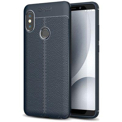 Asling Litchi Skin Phone Case for Xiaomi Redmi Note 5 Pro