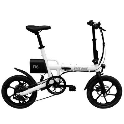CityMantiS CMS - F16 Outdoor 7.8Ah Battery Smart Folding Electric Bike Moped Bicycle