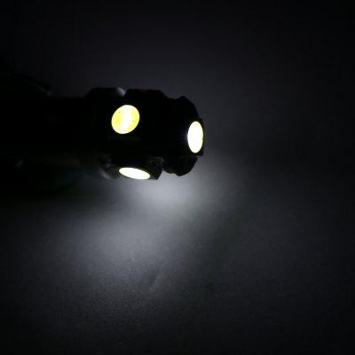 Car LED Light 5050 BA9S 5LED/White Light (10PCS)
