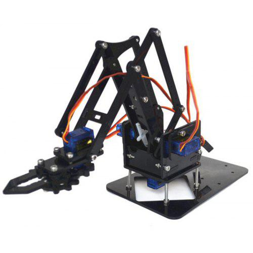 DIY Robot Arm Kit Educational Robotic Claw Set - MULTI SCREWS + ASSEMBLED ACCESSORIES