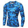Men's Quick-drying Training Clothes Long-sleeved Tracksuit - BLUE