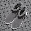 Winter Snow Boots Men Brushed Shoes - GRAY