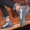 Man Sports Shoes Sneakers Lace Up Warm - GRAY