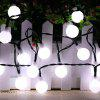 50 LED Waterproof Solar String Light for Outdoor Christmas Use - WHITE