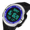 PANARS 8002 Outdoor Sports Electronic Watch - BLUE
