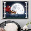 Christmas 3D Sticker Wallpaper PVC Room Decoration Decal - MULTI-A